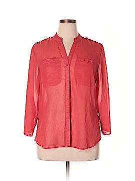 Metaphor 3/4 Sleeve Blouse Size XL