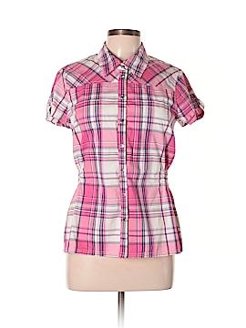 Guess Short Sleeve Button-Down Shirt Size XL