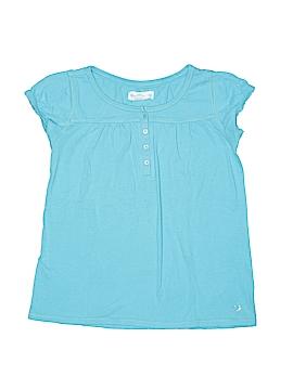 Gap Kids Short Sleeve Henley Size 8