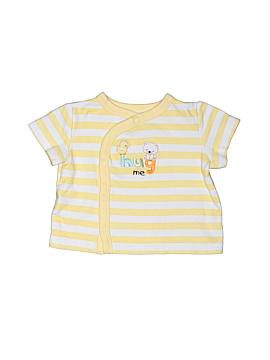 Okie Dokie Short Sleeve Button-Down Shirt Size 0-3 mo