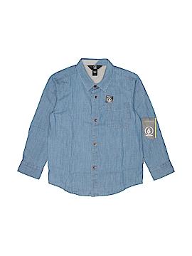 Volcom Long Sleeve Button-Down Shirt Size 6