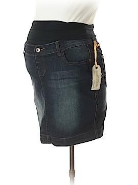 Lilac Maternity Denim Skirt Size S (Maternity)