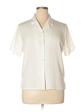 Sag Harbor Short Sleeve Blouse Size 14