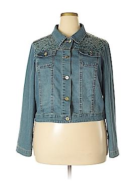 Cato Denim Jacket Size 18 (Plus)