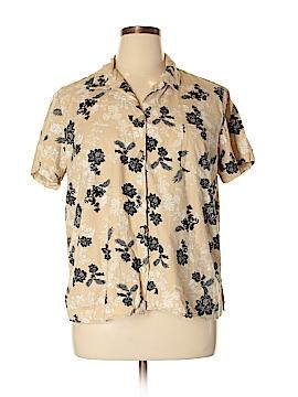 White Stag Short Sleeve Button-Down Shirt Size XXL