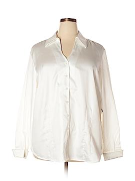 Coldwater Creek Long Sleeve Button-Down Shirt Size 3X (Plus)