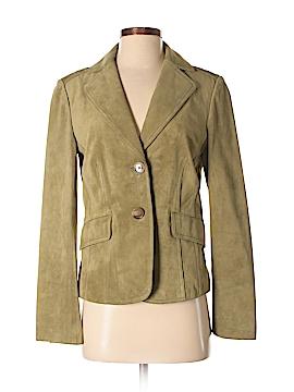 Ann Taylor Leather Jacket Size 4