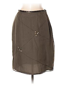 Due Per Due Silk Skirt Size 8