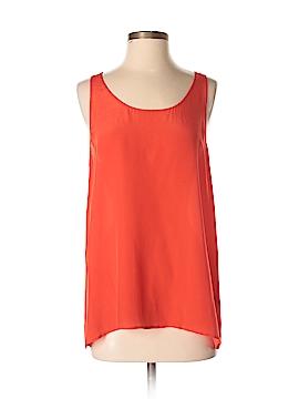 Saks Fifth Avenue Sleeveless Silk Top Size M