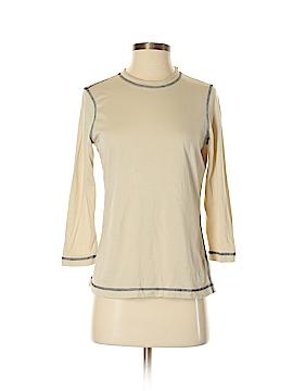 Oleg Cassini 3/4 Sleeve T-Shirt Size S