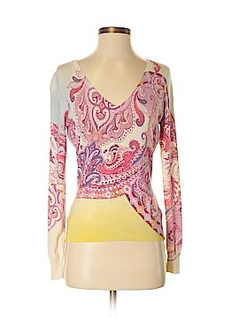 ETRO Silk Pullover Sweater Size 40 (IT)