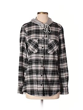 Drew Long Sleeve Button-Down Shirt Size S