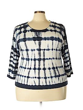Chico's Pullover Sweater Size Lg Plus (2) (Plus)