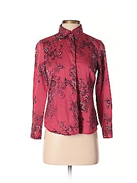 Coldwater Creek Long Sleeve Button-Down Shirt Size 4