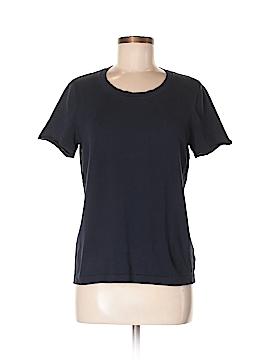 Jones New York Short Sleeve Silk Top Size L