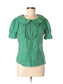 One September Short Sleeve Blouse Size L