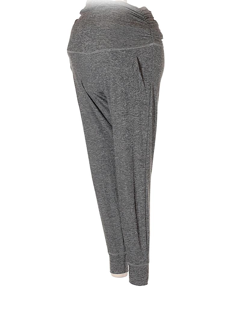 aacf3fc627fa62 Beyond the Bump by Beyond Yoga Solid Gray Yoga Pants Size XS ...