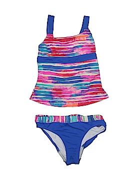 Speedo Two Piece Swimsuit Size 12