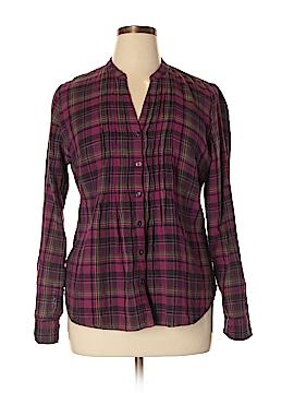 Converse One Star 3/4 Sleeve Button-Down Shirt Size XL