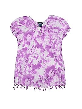 Chaps Short Sleeve Blouse Size 6
