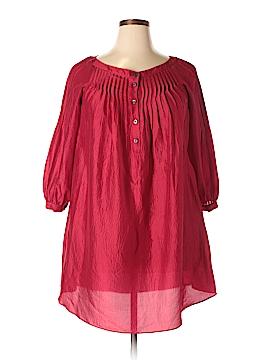 Derek Lam 3/4 Sleeve Silk Top Size 2