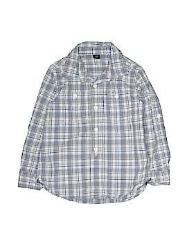 Gap Kids Long Sleeve Button-Down Shirt Size 5
