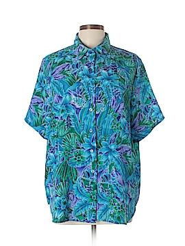 BonWorth Short Sleeve Blouse Size L (Petite)