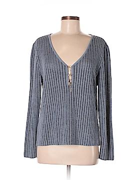 St. John Sport Silk Pullover Sweater Size M