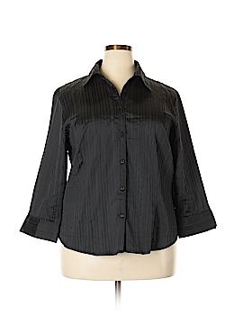 DressBarn Long Sleeve Blouse Size 18 (Plus)
