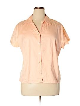 Westbound Short Sleeve Button-Down Shirt Size XL