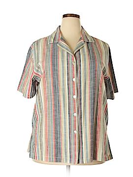 C.D. Daniels Short Sleeve Button-Down Shirt Size 1X (Plus)