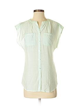 Van Heusen Short Sleeve Blouse Size XXS