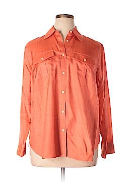 Ralph Lauren Long Sleeve Silk Top Size 1X (Plus)