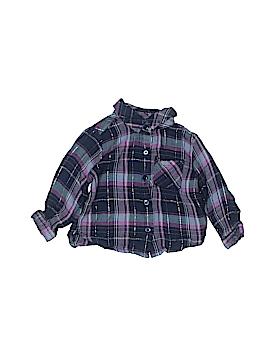 Koala Kids Long Sleeve Button-Down Shirt Size 3-6 mo
