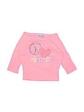 Happy Kids Long Sleeve T-Shirt Size M (Kids)