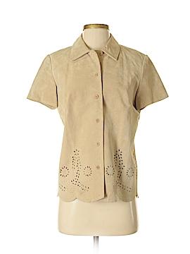 Christie & Jill Leather Jacket Size 4