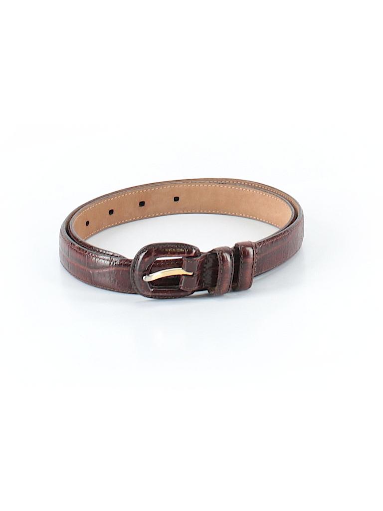 Brooks Brothers Women Leather Belt Size M