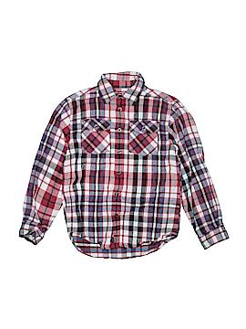 L.L.Bean Factory Store Long Sleeve Button-Down Shirt Size 8