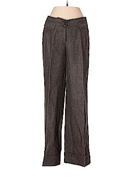 MNG Suit Linen Pants Size 4