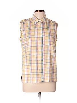 Jones New York Sleeveless Button-Down Shirt Size 10