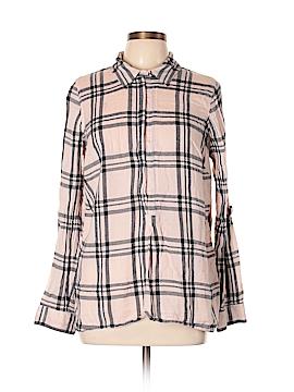 Crown & Ivy Long Sleeve Button-Down Shirt Size 0X (Plus)