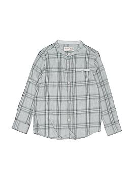 Zara Long Sleeve Button-Down Shirt Size 6