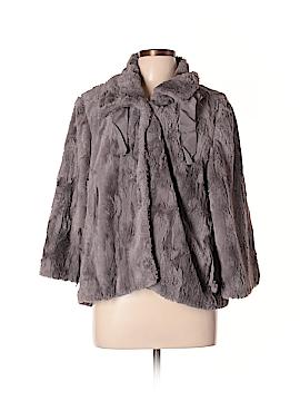 T Tahari Faux Fur Jacket Size L