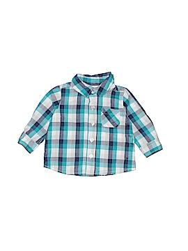 Little Wonders Long Sleeve Button-Down Shirt Size 0-3 mo