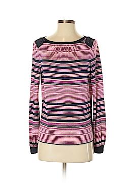 Tory Burch Long Sleeve Silk Top Size XS