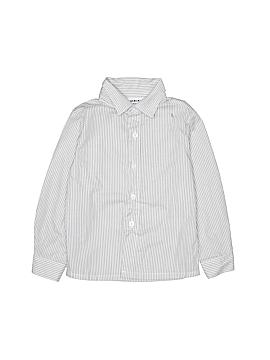 Blueberi Boulevard Long Sleeve Button-Down Shirt Size 4T
