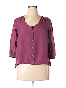 Sparkle & Fade 3/4 Sleeve Blouse Size L