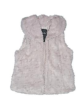 Me Jane Faux Fur Vest Size 12