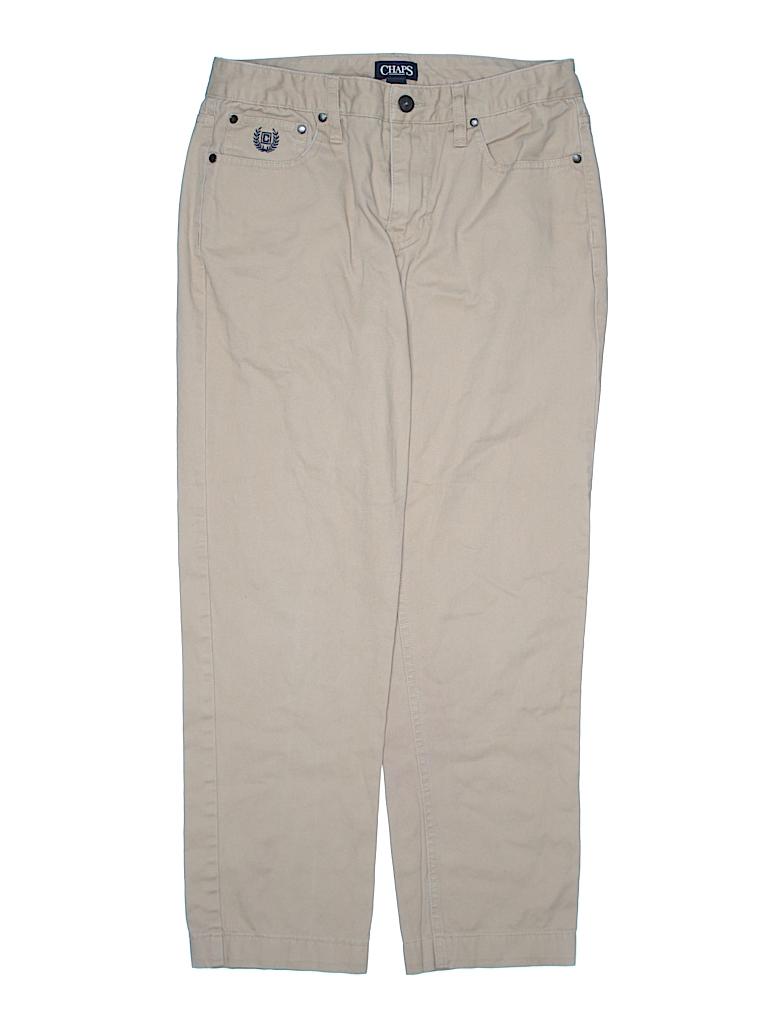 Chaps Boys Khakis Size 18