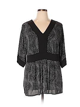 DressBarn Short Sleeve Blouse Size 16